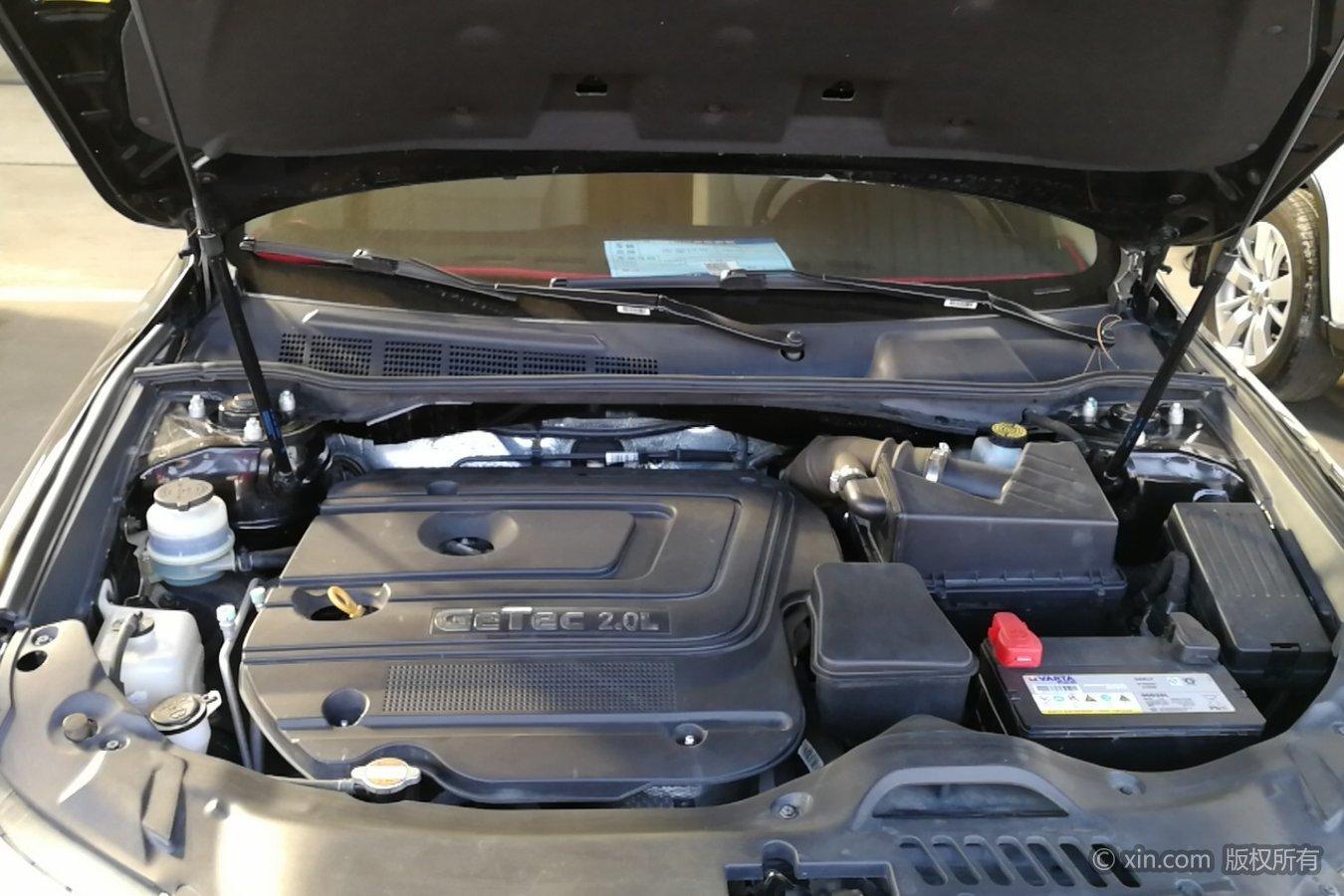 吉利汽车ec8发动机舱
