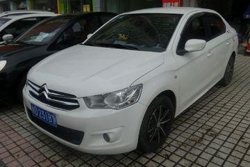 雪铁龙 爱丽舍三厢 2014款 1.6 手动 舒适型
