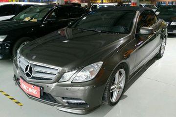 奔驰 E级敞篷车 2012款 1.8T 自动 E260 CGI