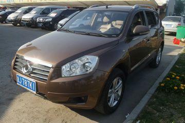 吉利汽车 全球鹰GX7 2012款 1.8 手动 精英型