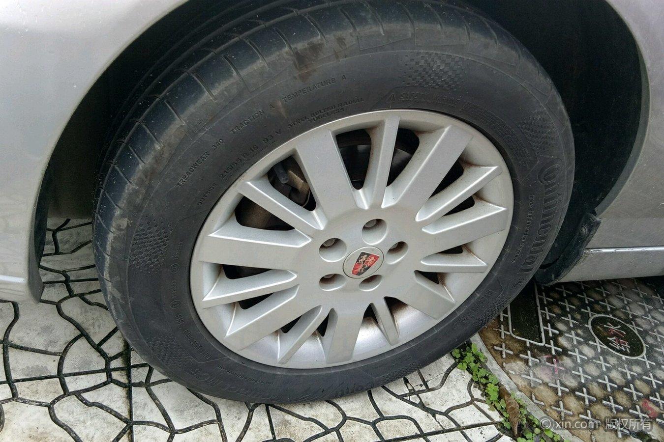 荣威750左前轮胎本田思铂睿比起亚K5
