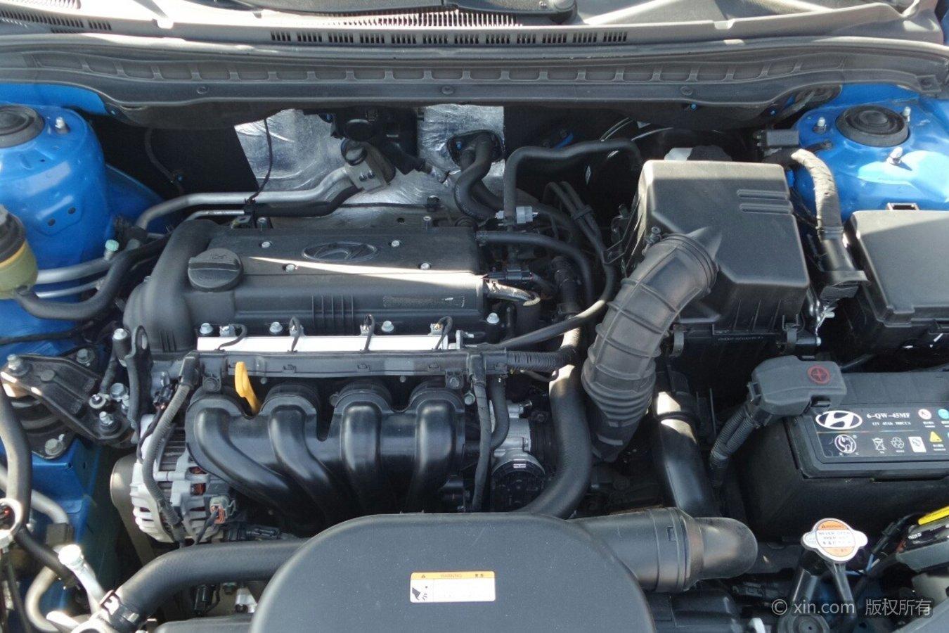 现代i30发动机