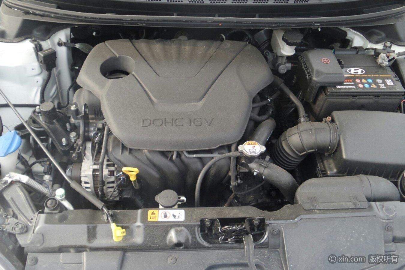 现代朗动发动机