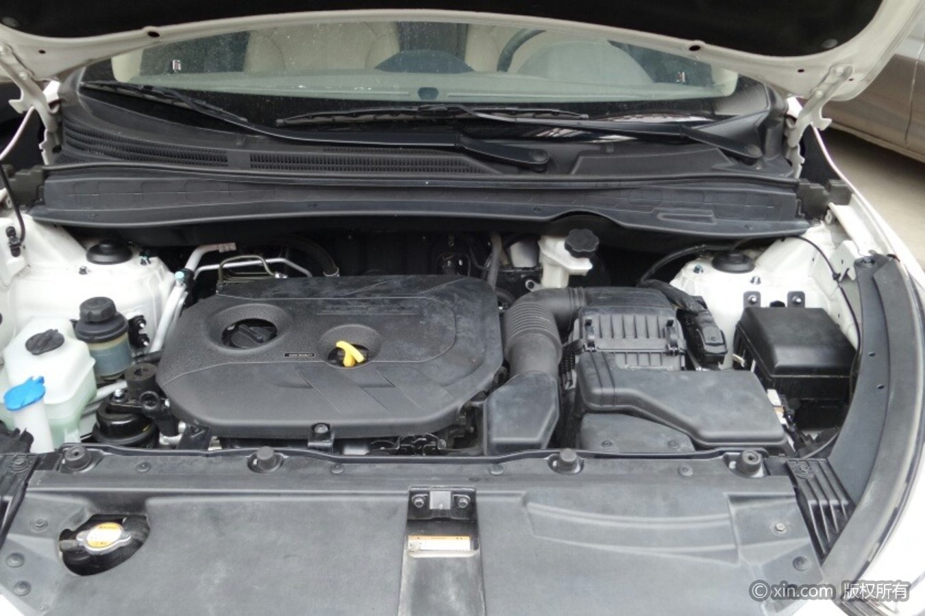 现代ix35发动机