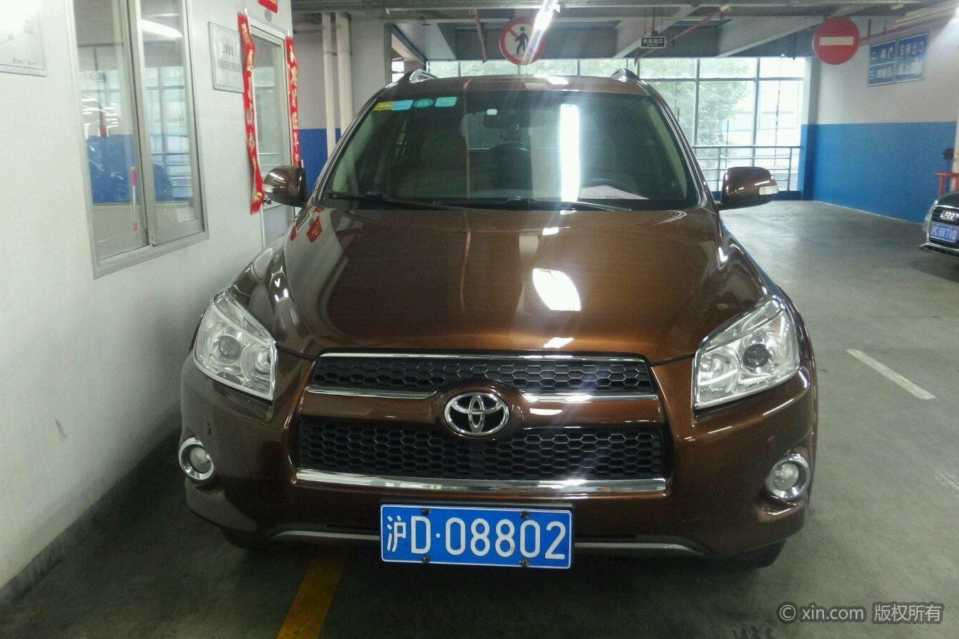丰田rav4 2012款 2.0 自动 豪华型