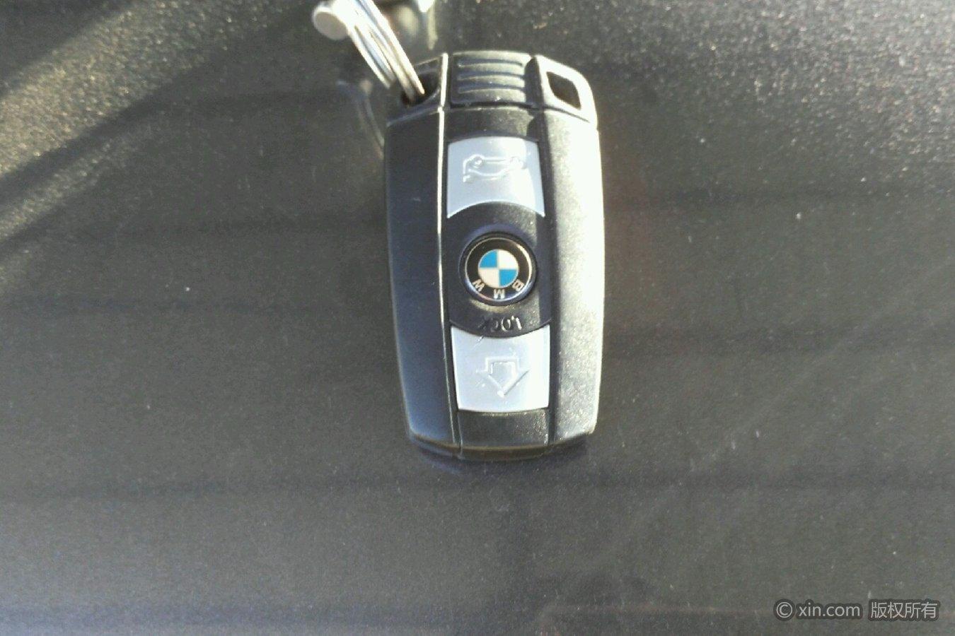 宝马x5车钥匙银色
