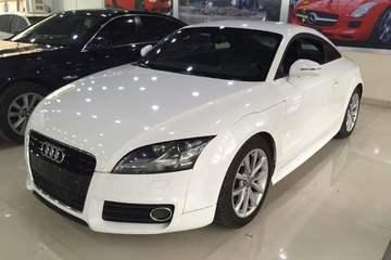 奥迪 TT 2013款 2.0T 自动 Coupe 45TFSI白色经典版
